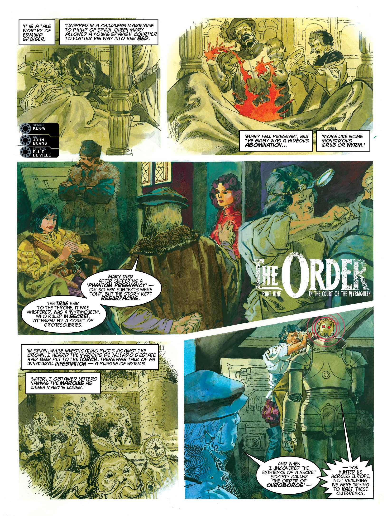 Read online 2000 AD comic -  Issue #1969 - 20
