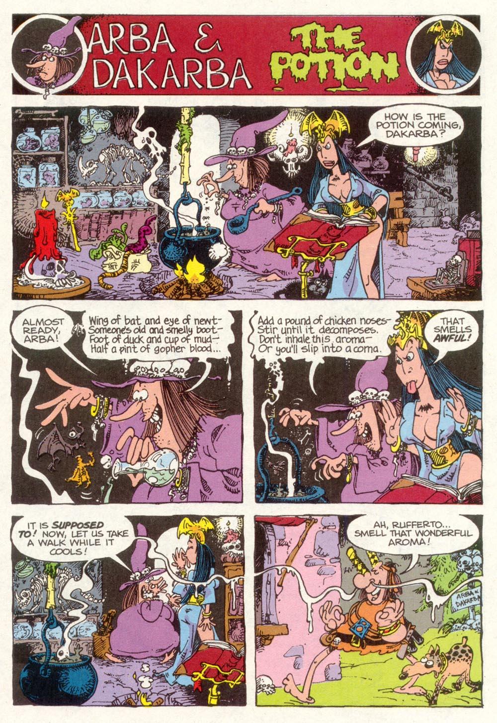 Read online Sergio Aragonés Groo the Wanderer comic -  Issue #92 - 29