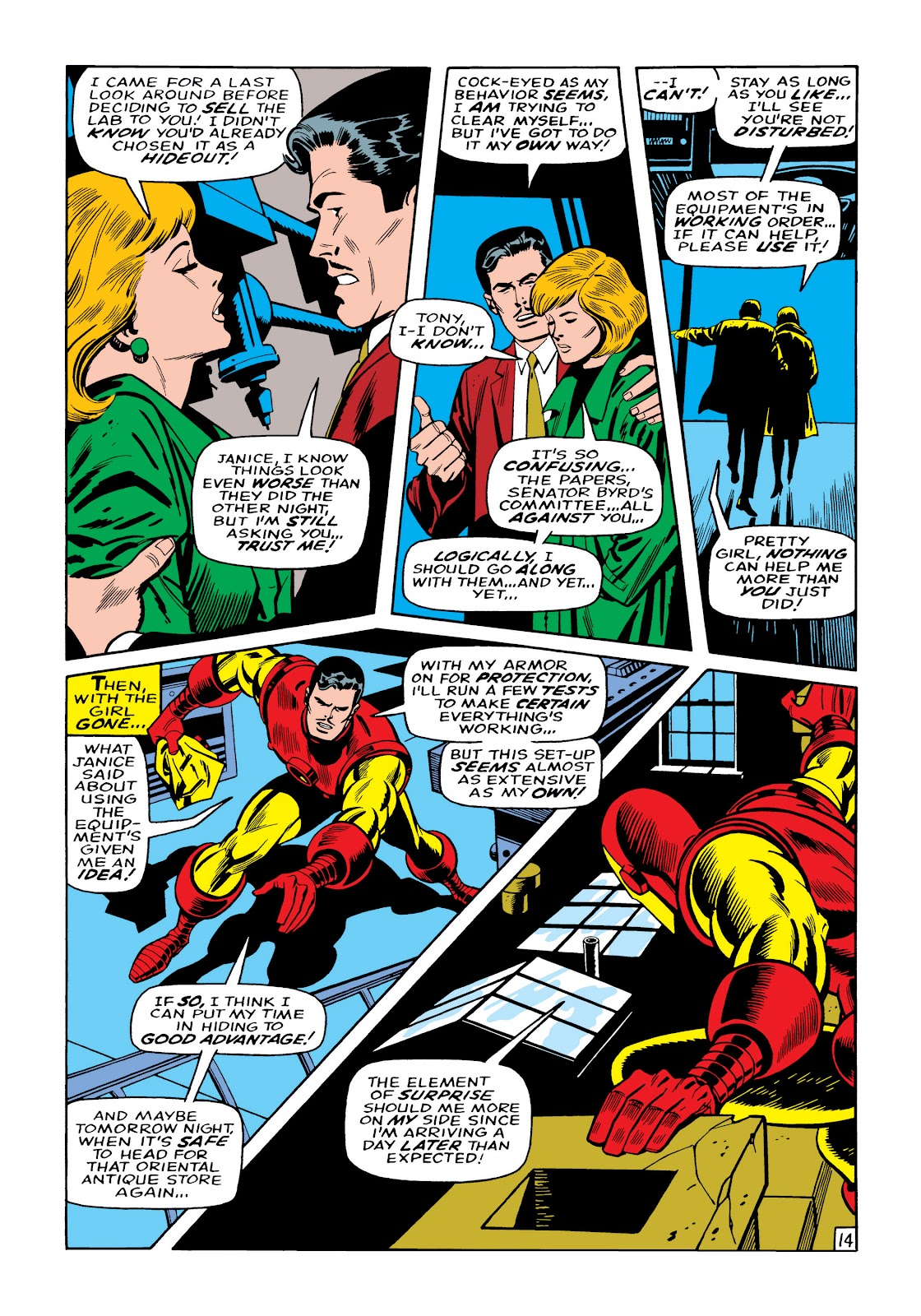 Read online Marvel Masterworks: The Invincible Iron Man comic -  Issue # TPB 5 (Part 2) - 89