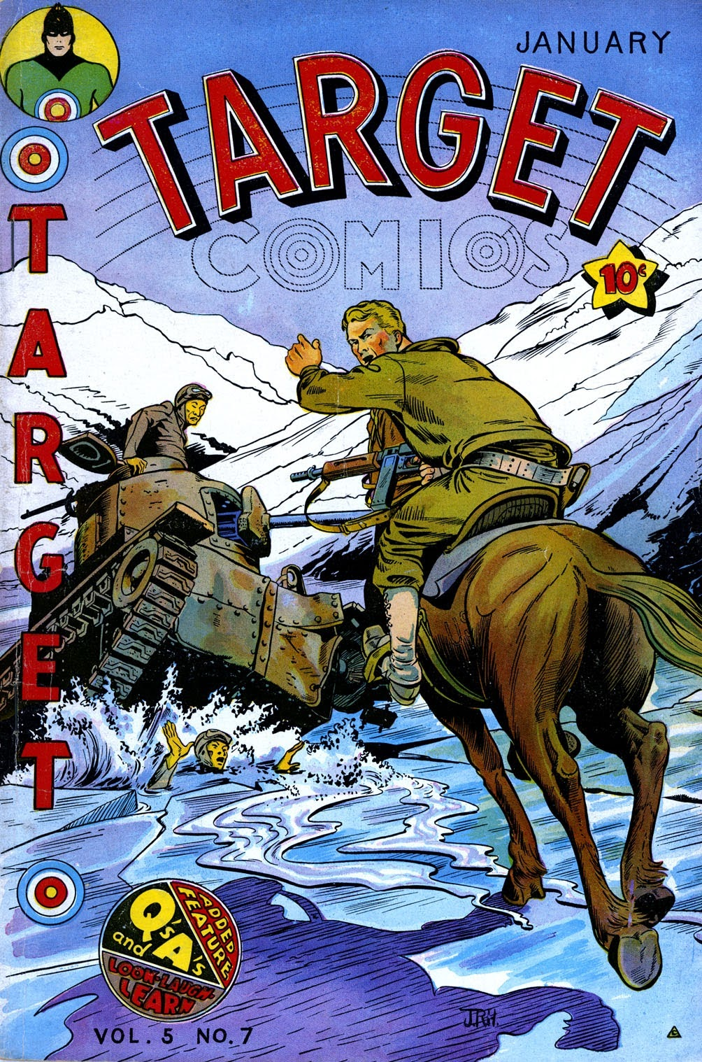 Target Comics 57 Page 1