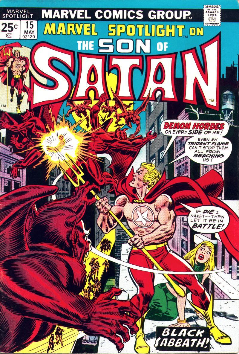 Marvel Spotlight (1971) issue 15 - Page 1