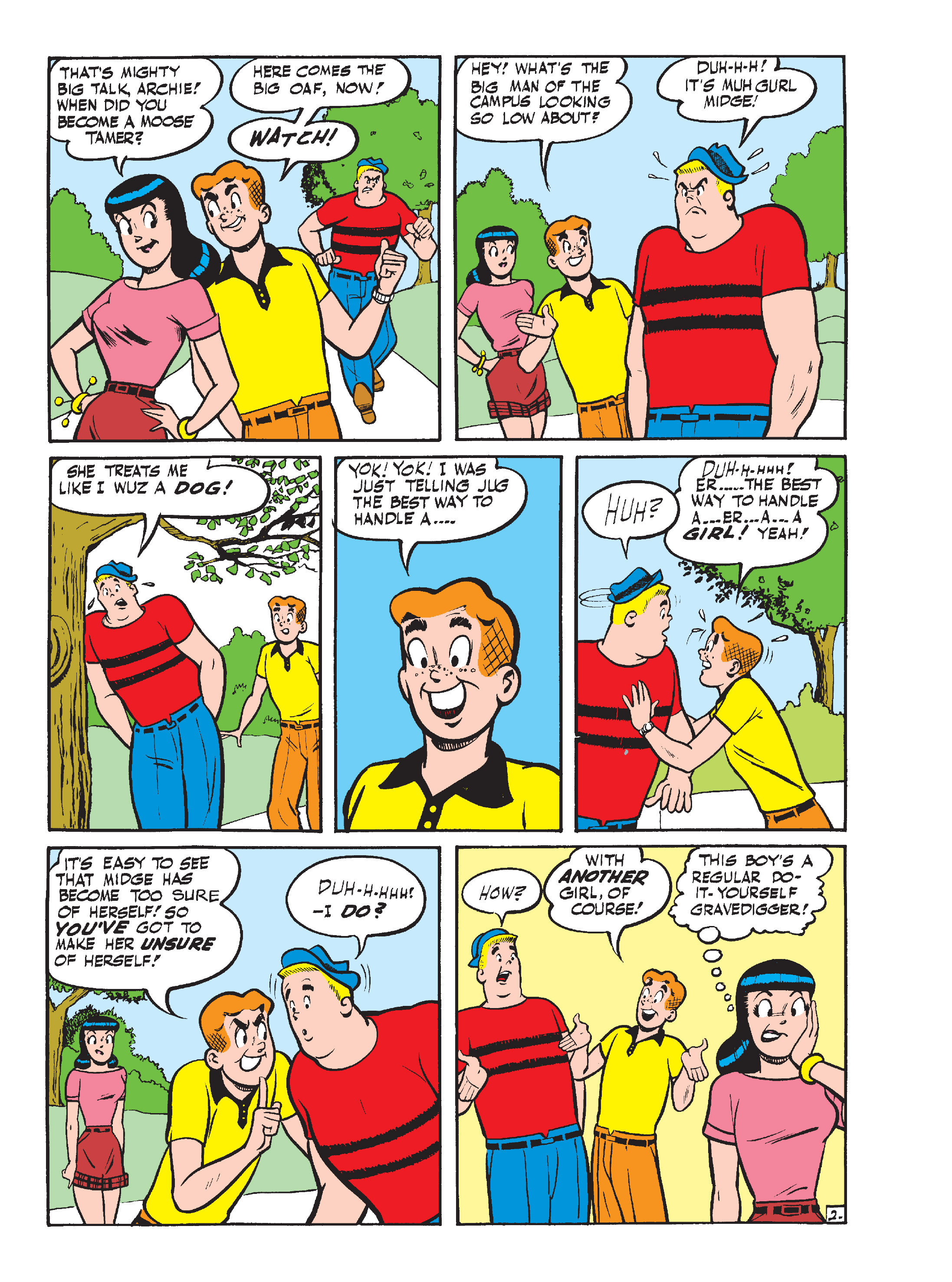 Read online Archie's Funhouse Double Digest comic -  Issue #15 - 125