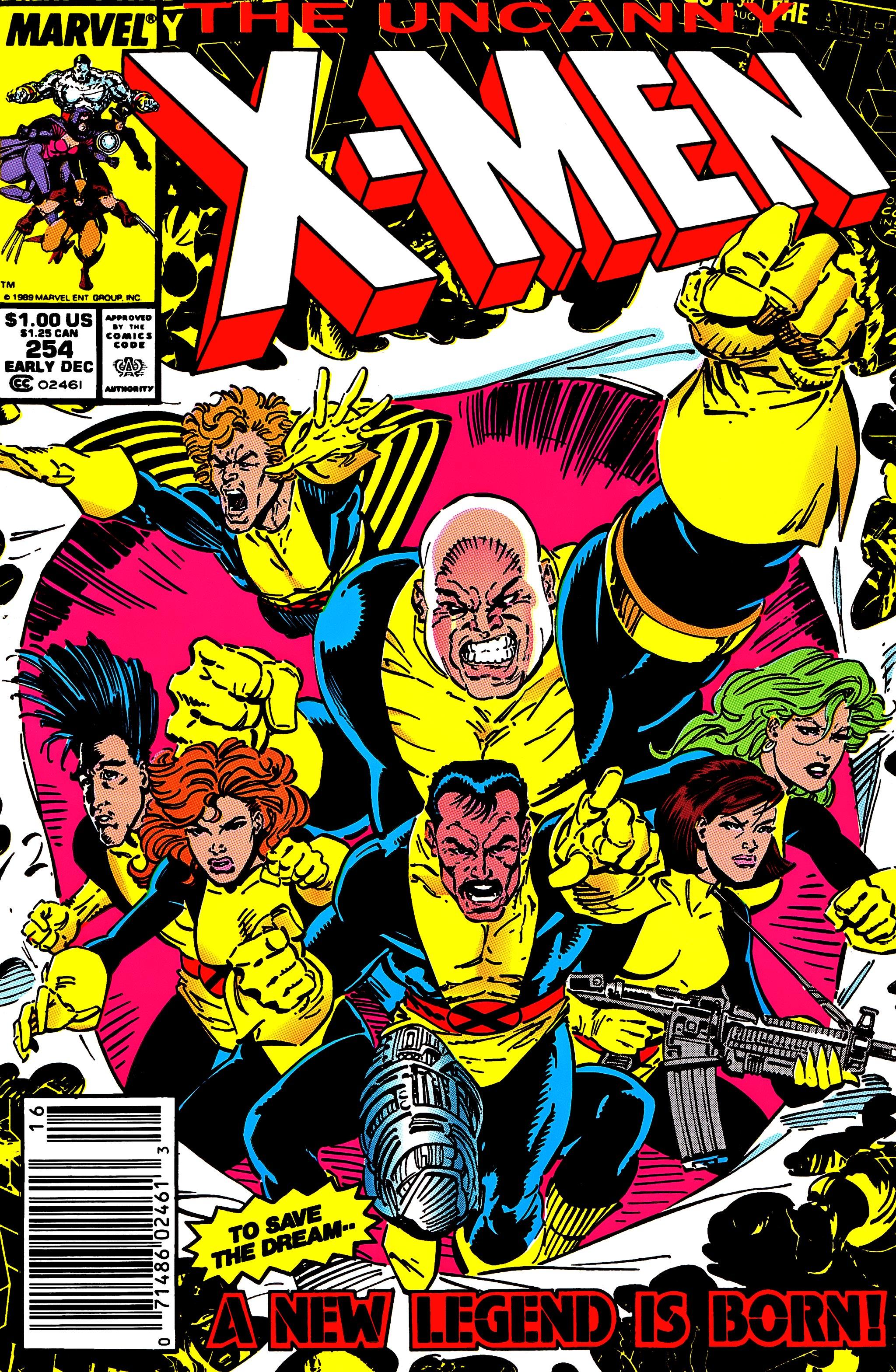 Read online Uncanny X-Men (1963) comic -  Issue #254 - 1