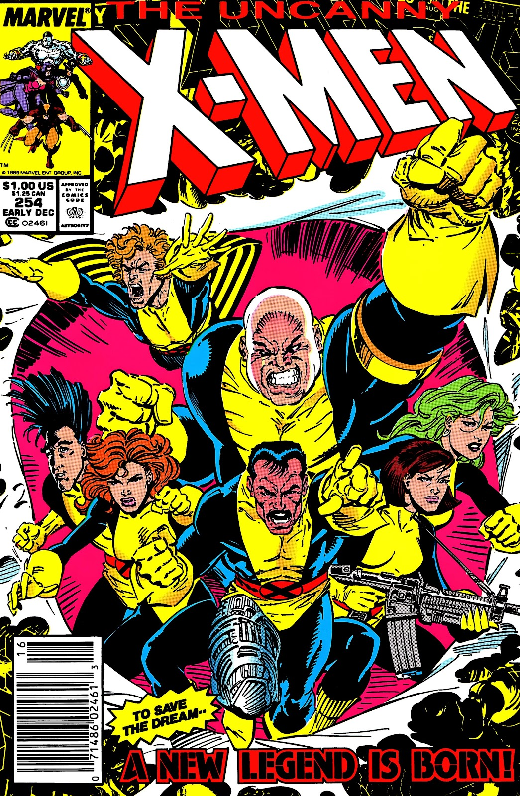 Uncanny X-Men (1963) issue 254 - Page 1