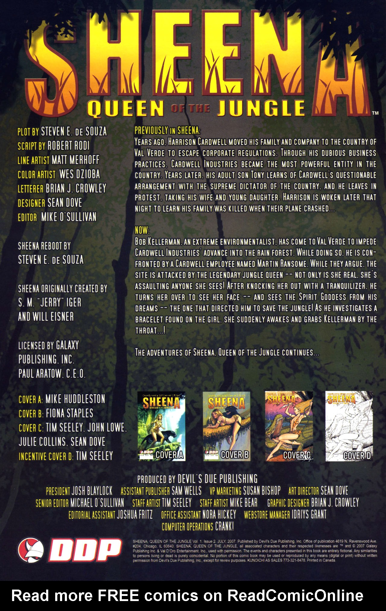 Read online Sheena, Queen of the Jungle comic -  Issue #2 - 2