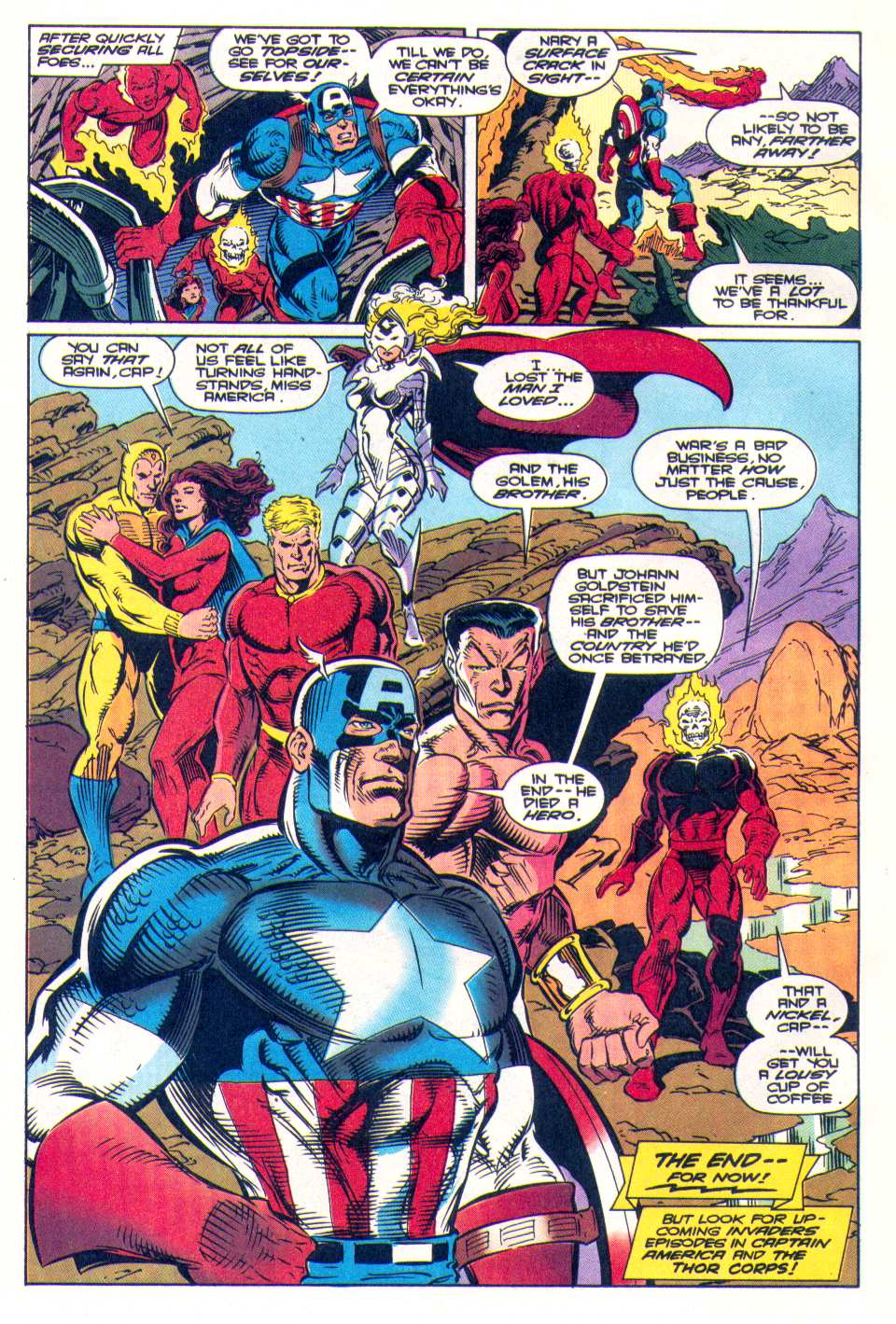 Read online The Invaders (1993) comic -  Issue #4 - 24