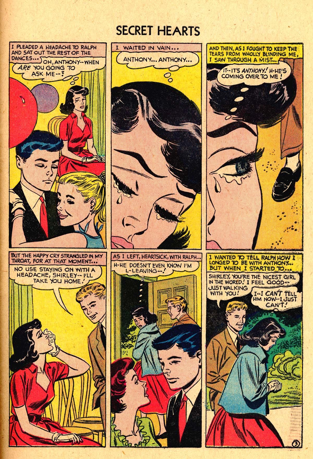 Read online Secret Hearts comic -  Issue #40 - 29