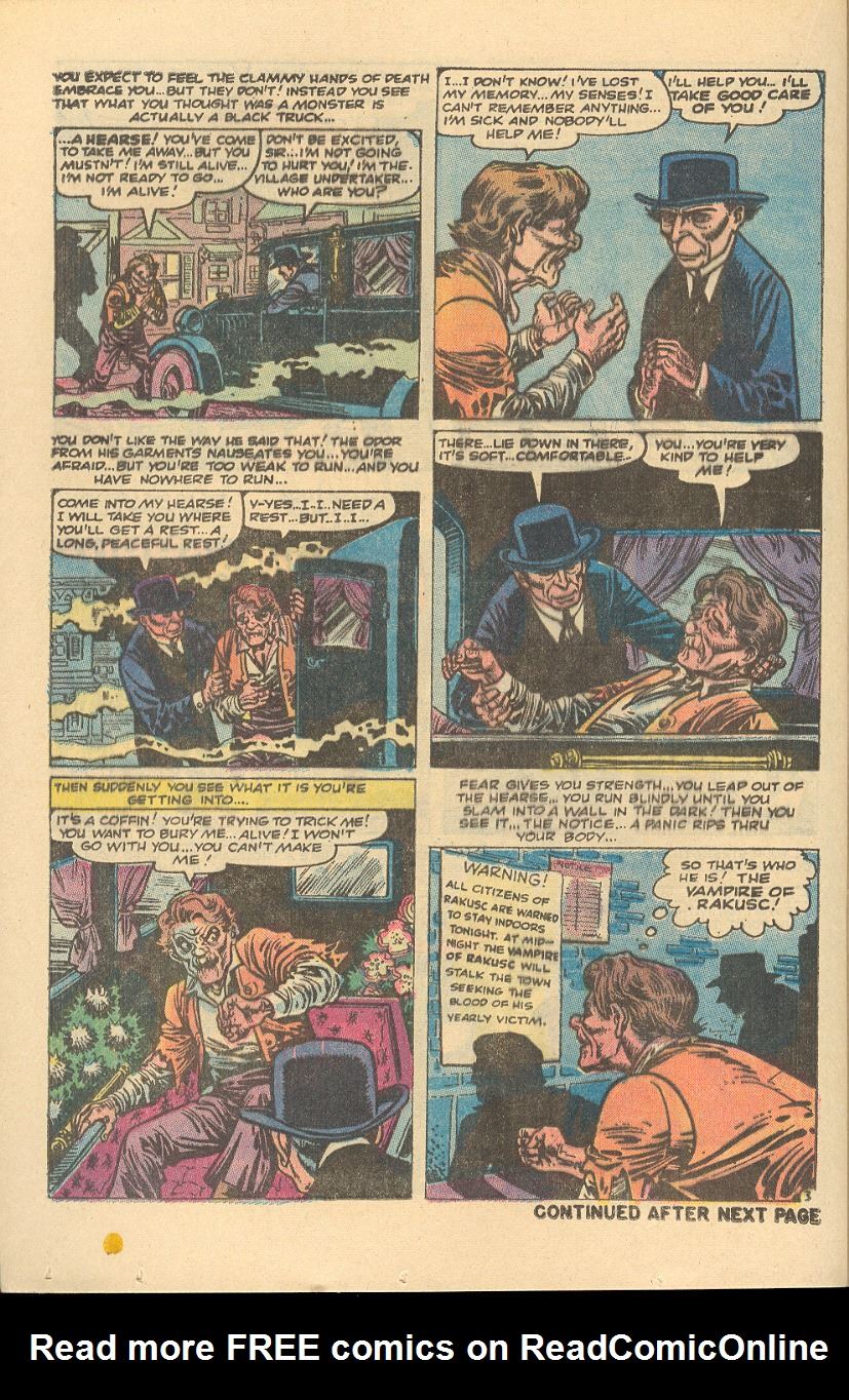 Read online Adventures into Weird Worlds comic -  Issue #5 - 11