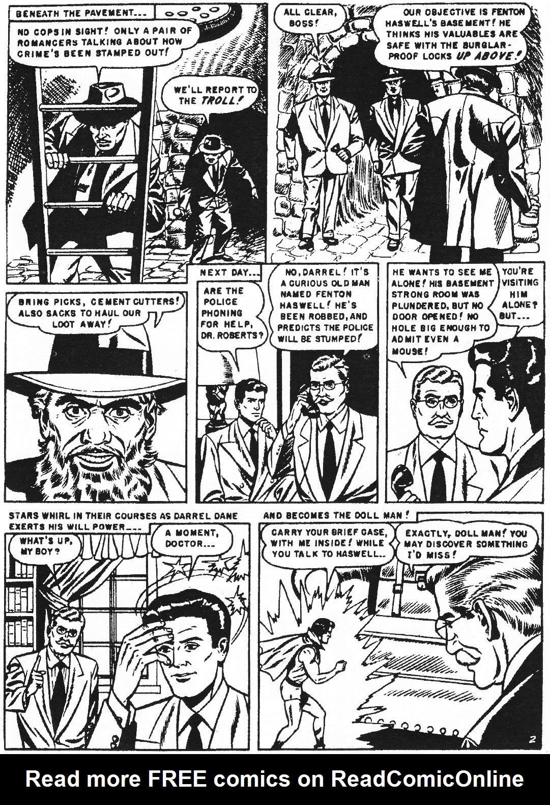 Read online Men of Mystery Comics comic -  Issue #70 - 13