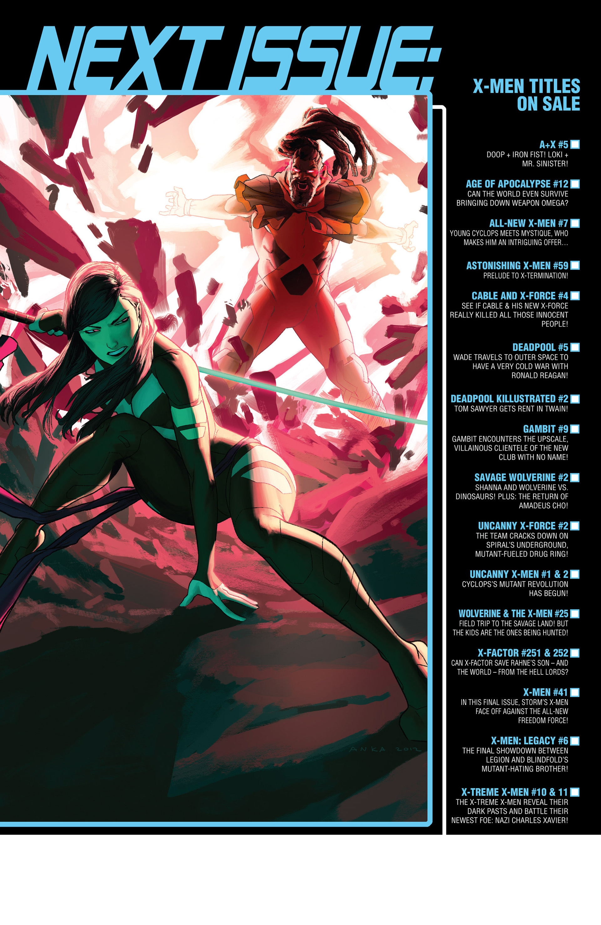 Read online Uncanny X-Force (2013) comic -  Issue #2 - 23