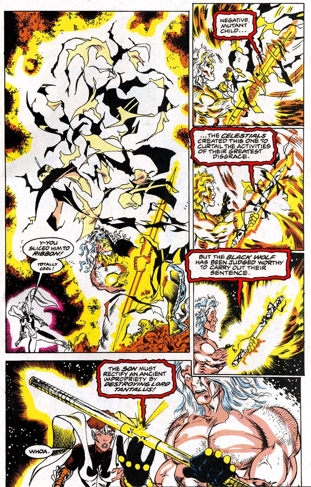 Read online Blackwulf comic -  Issue #9 - 21