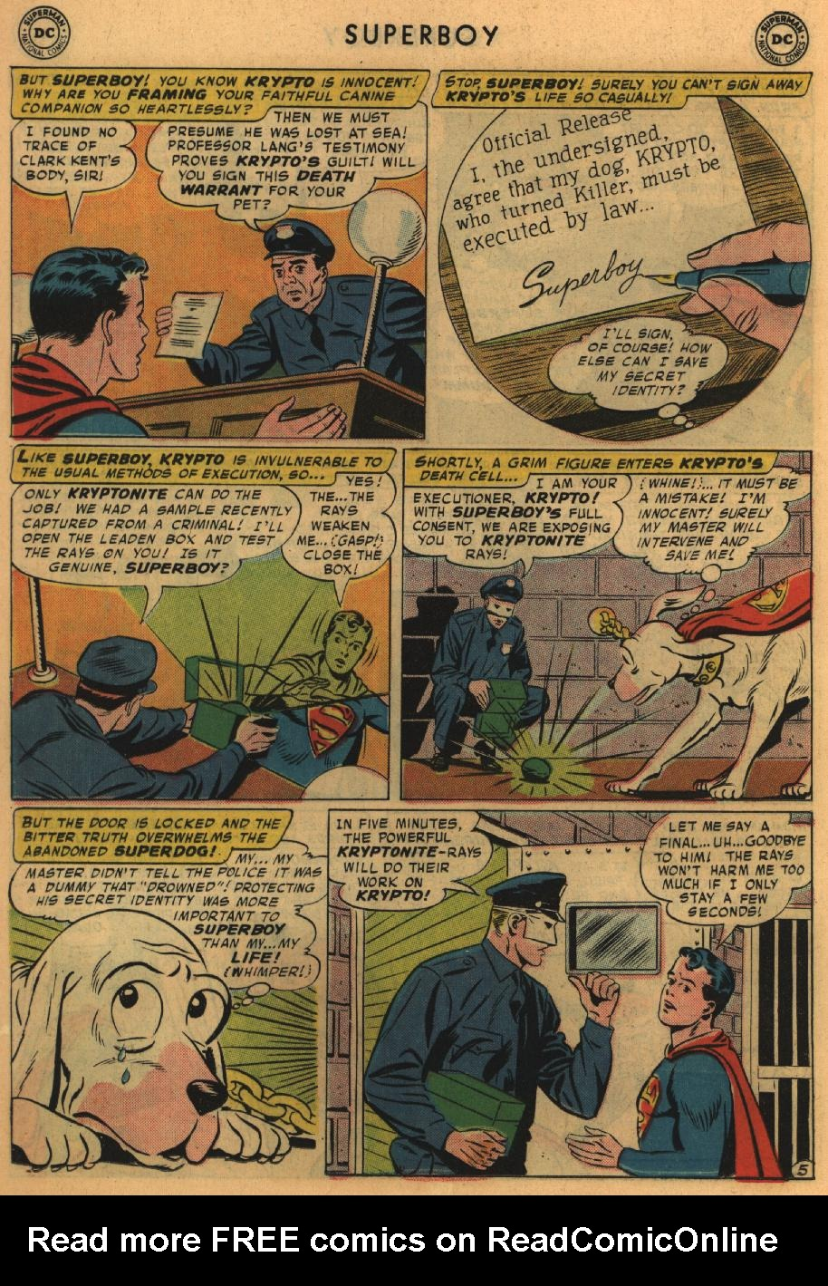 Superboy (1949) issue 67 - Page 16