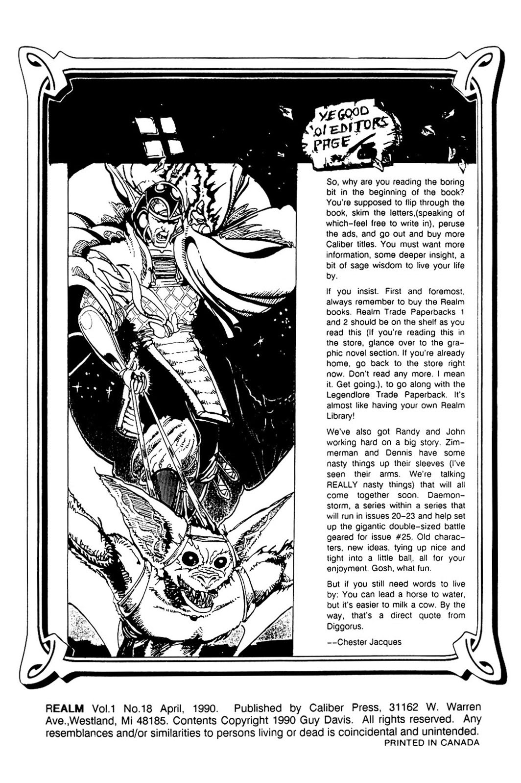 The Realm (1986) issue 18 - Page 2