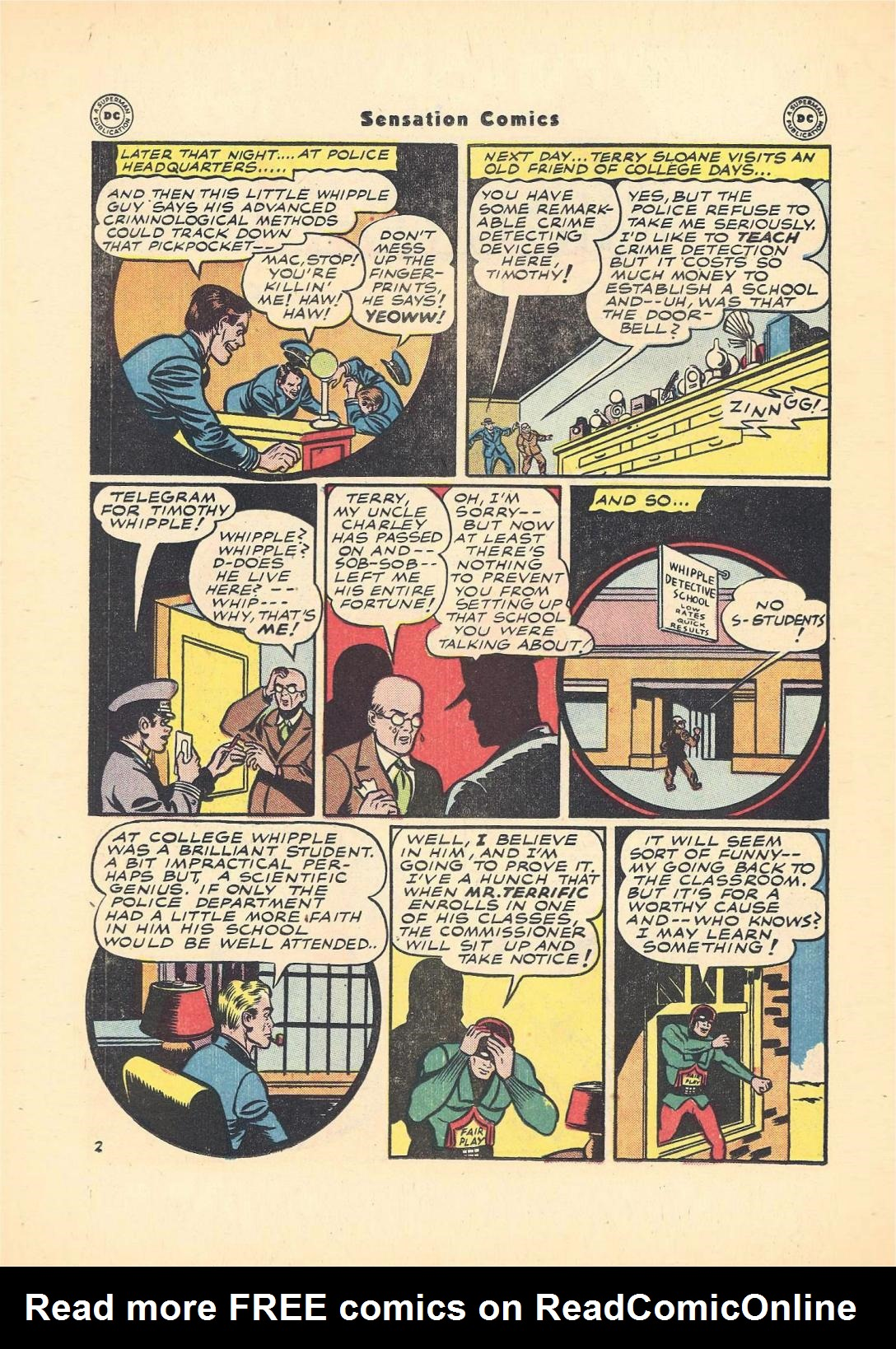 Read online Sensation (Mystery) Comics comic -  Issue #55 - 36