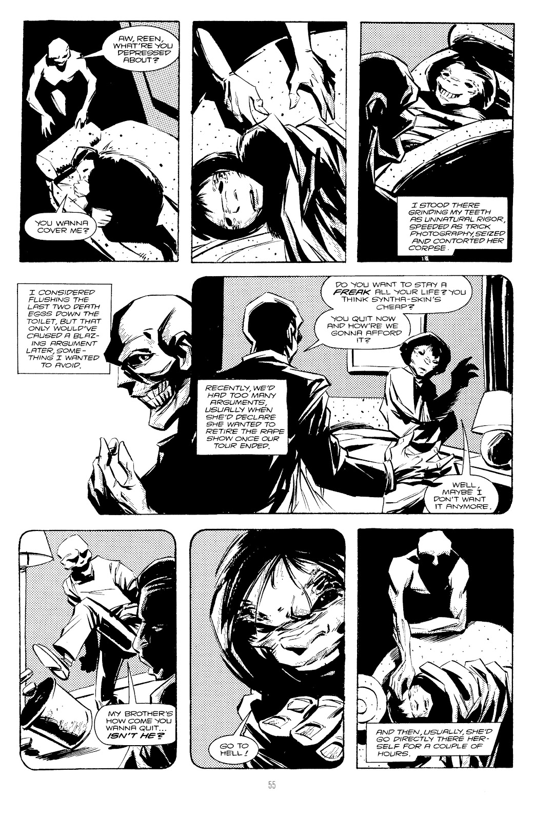Read online Freaks' Amour comic -  Issue # TPB (Part 1) - 56