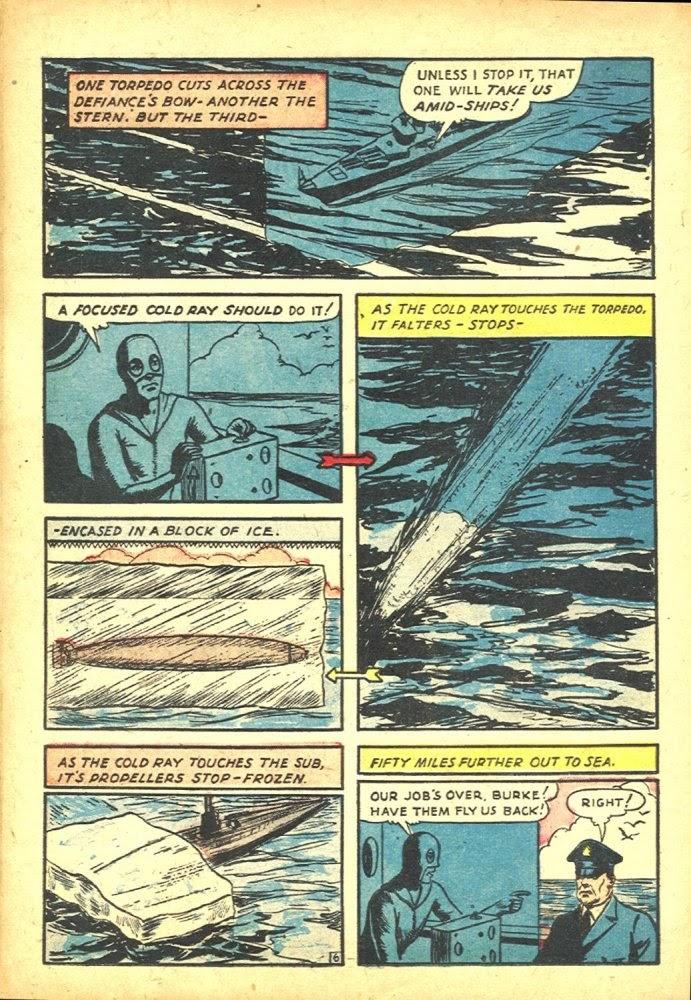 Read online Amazing Man Comics comic -  Issue #25 - 50