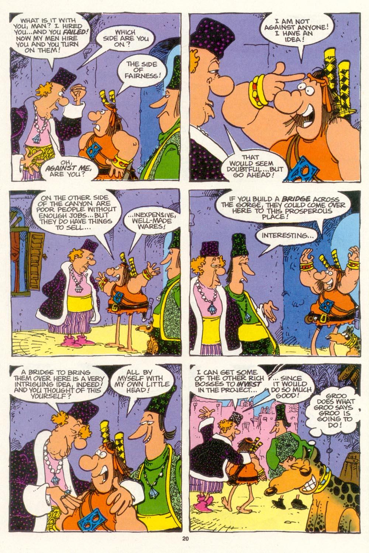 Read online Sergio Aragonés Groo the Wanderer comic -  Issue #102 - 22