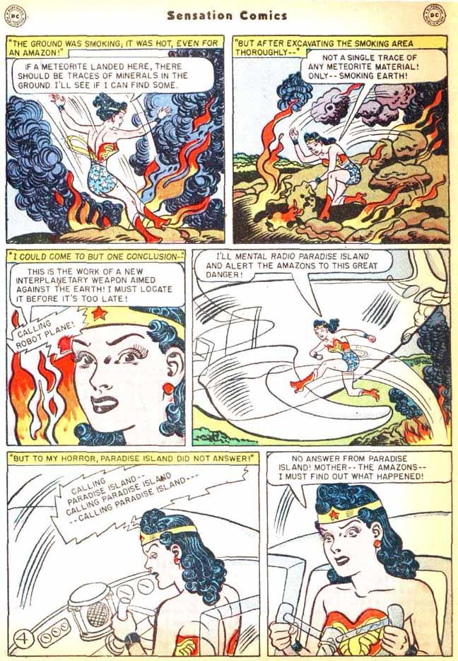 Read online Sensation (Mystery) Comics comic -  Issue #92 - 6