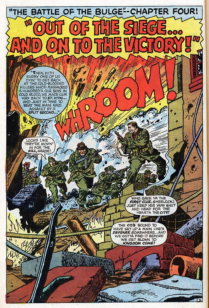Read online Sgt. Fury comic -  Issue # _Special 4 - 38