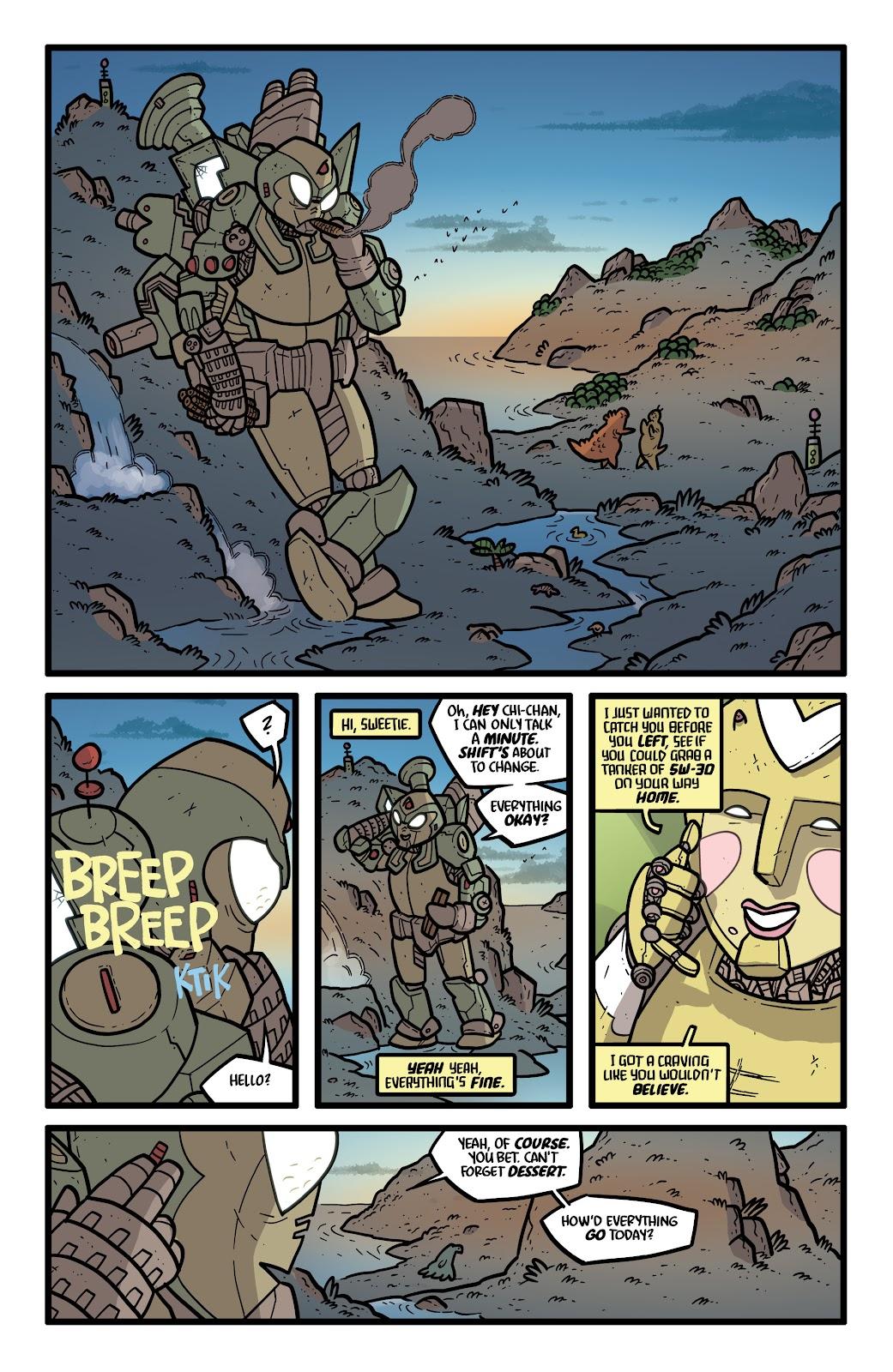 Read online Kaijumax: Season Four comic -  Issue #5 - 3