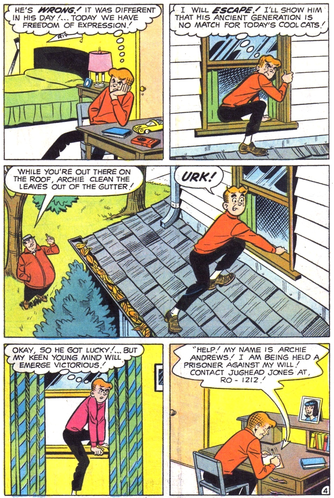 Read online Archie (1960) comic -  Issue #190 - 31