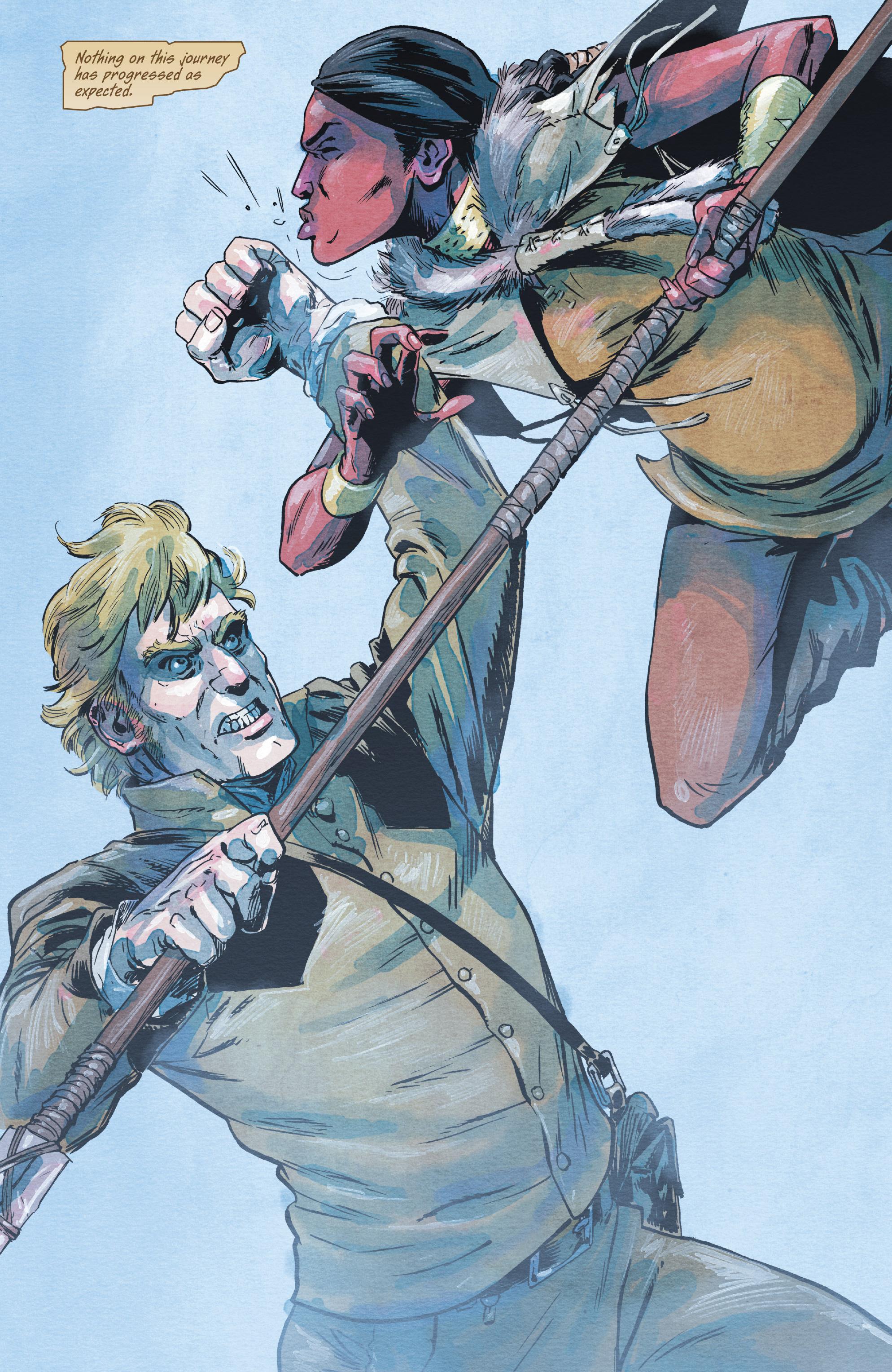 Read online Manifest Destiny comic -  Issue #28 - 4