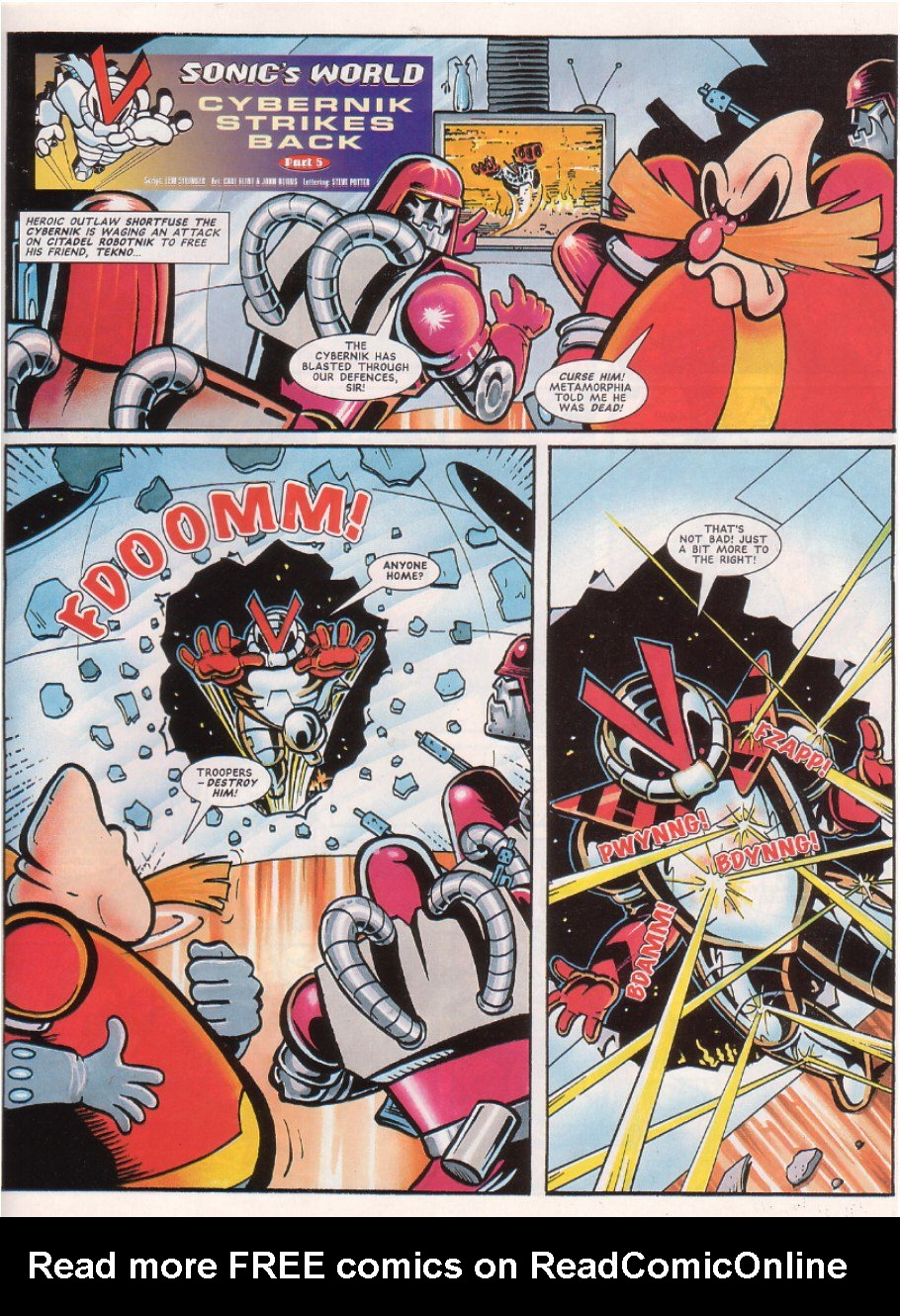 Read online Sonic the Comic comic -  Issue #67 - 24