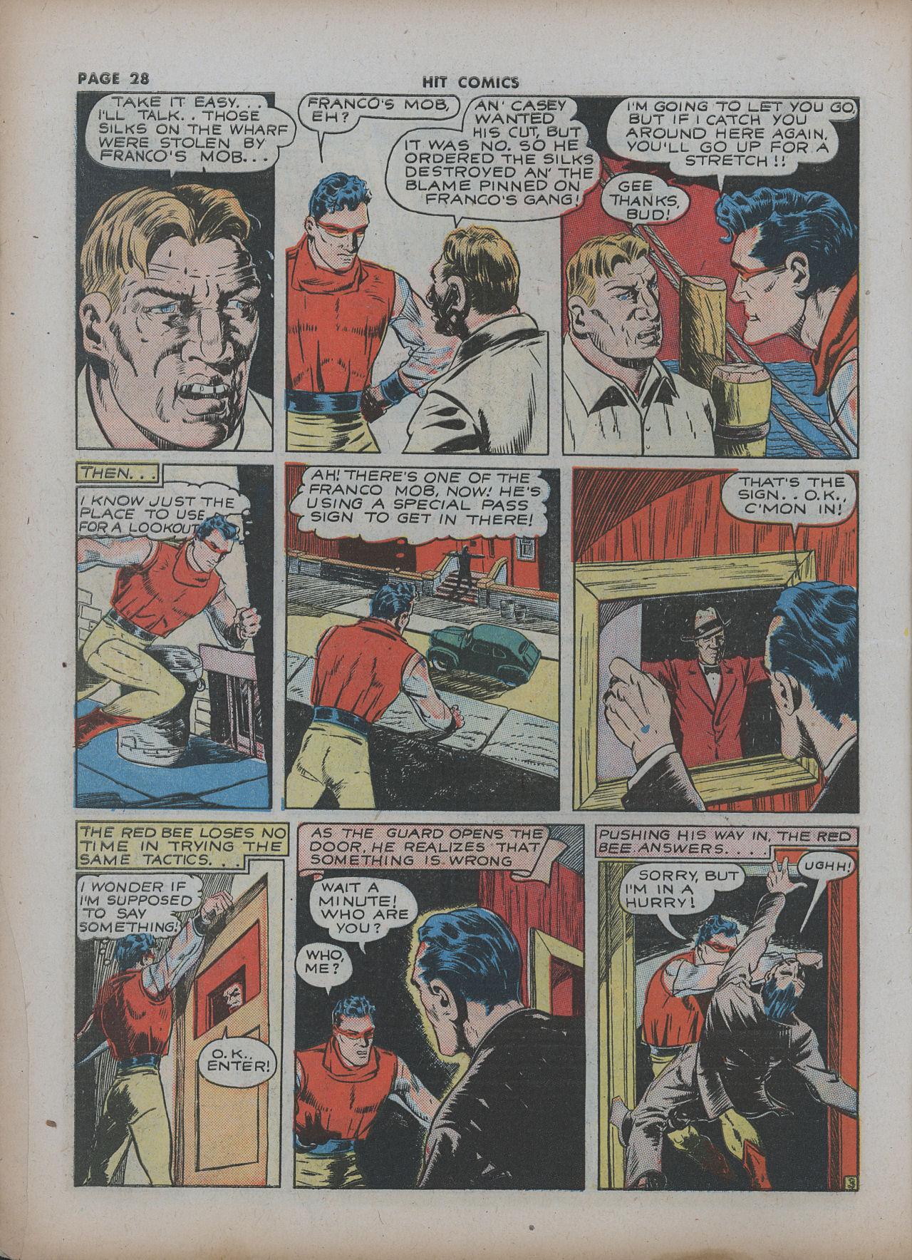 Read online Hit Comics comic -  Issue #22 - 30