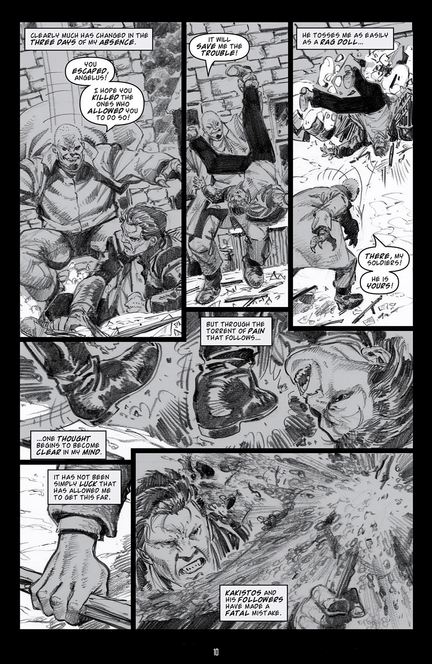 Read online Angel: Blood & Trenches comic -  Issue #4 - 13