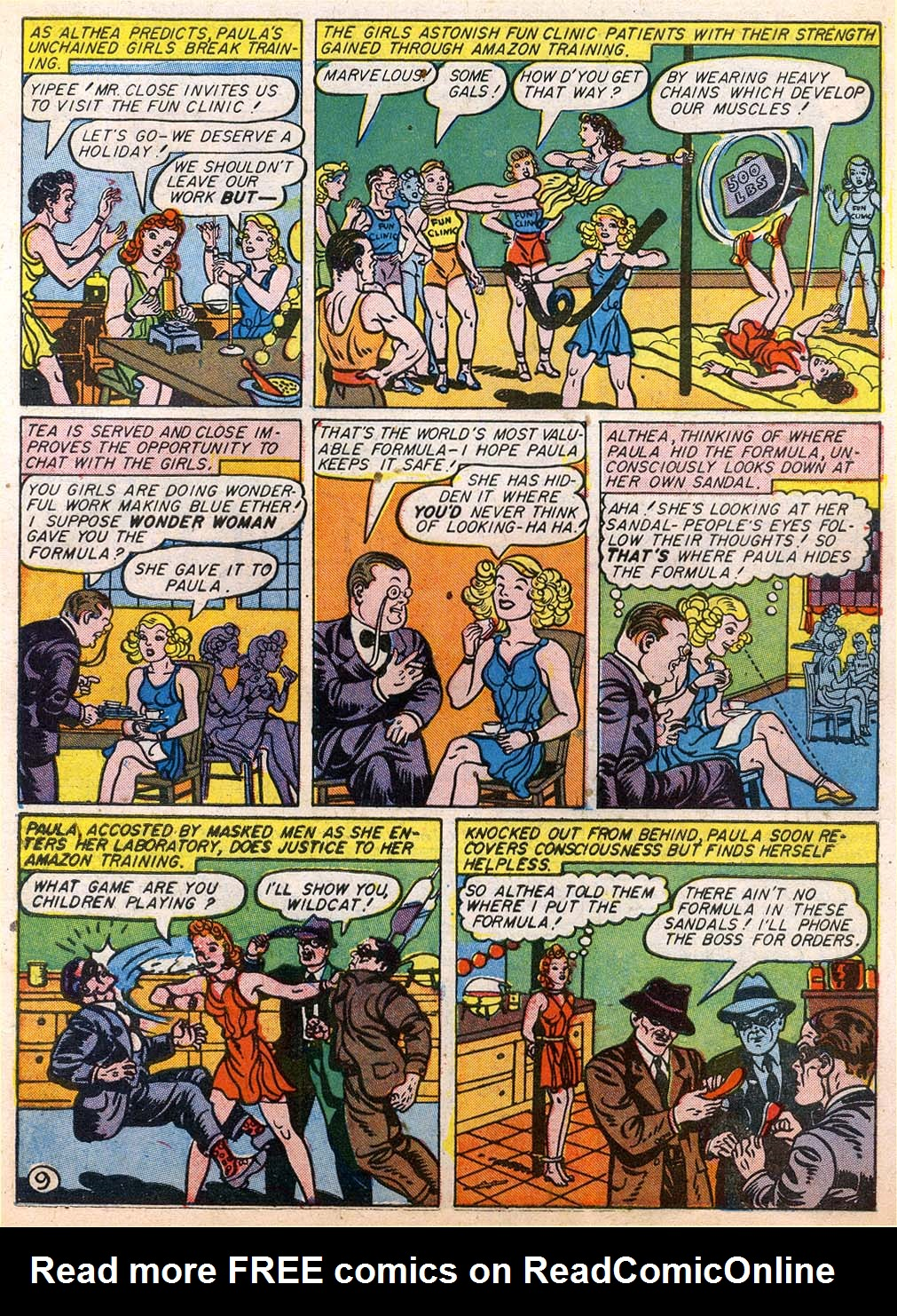 Read online Sensation (Mystery) Comics comic -  Issue #27 - 11