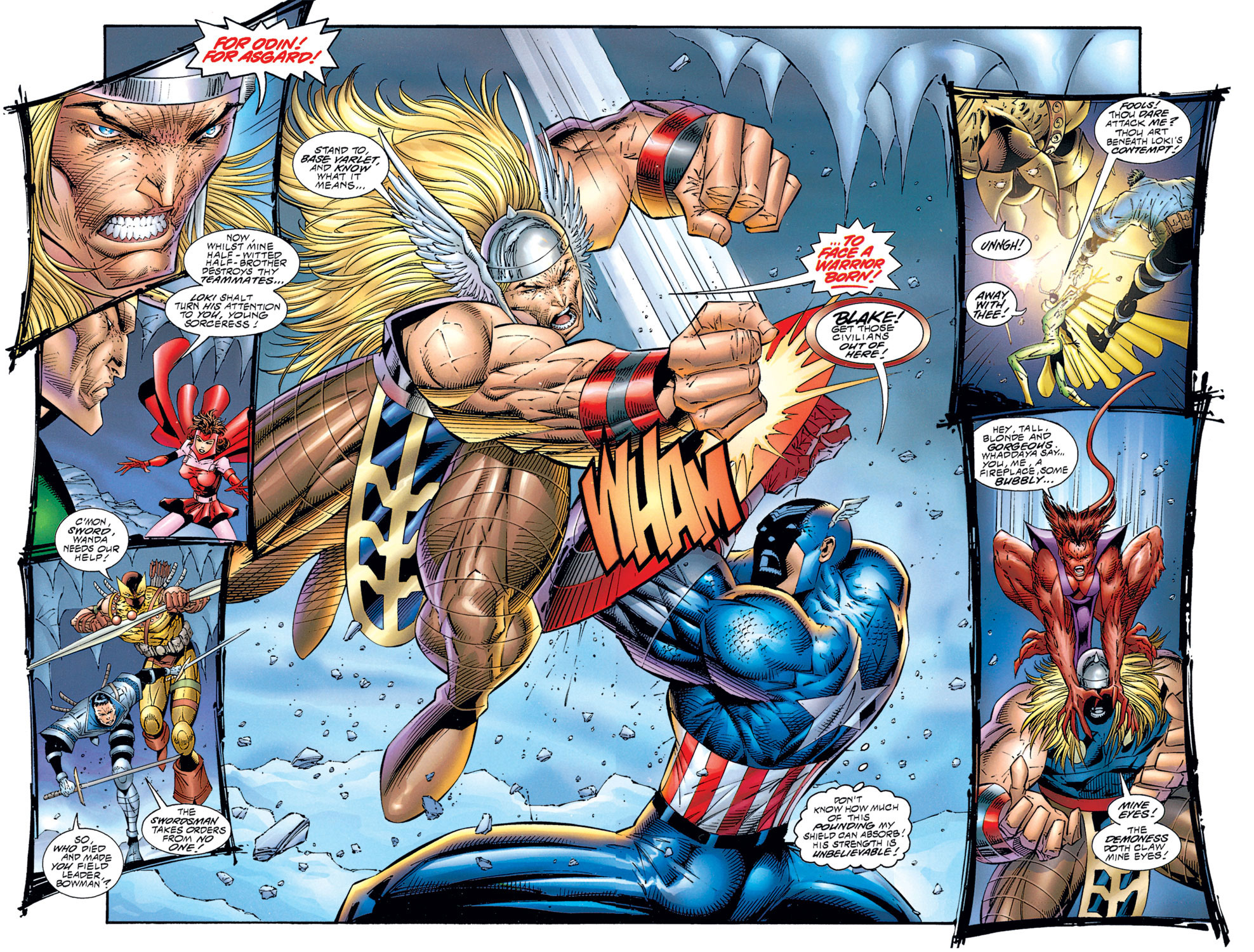 Read online Avengers (1996) comic -  Issue #1 - 26