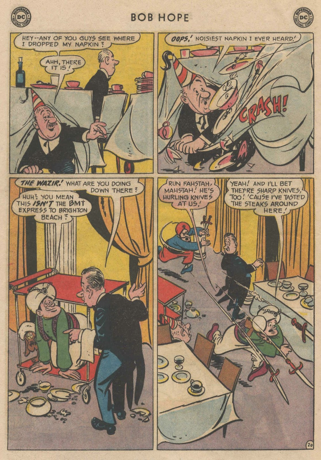 The Adventures of Bob Hope issue 90 - Page 28