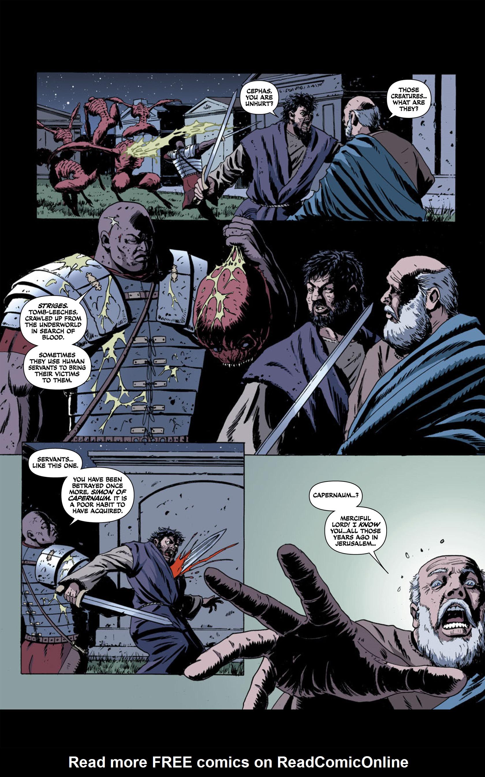 Read online Aquila comic -  Issue #2 - 28