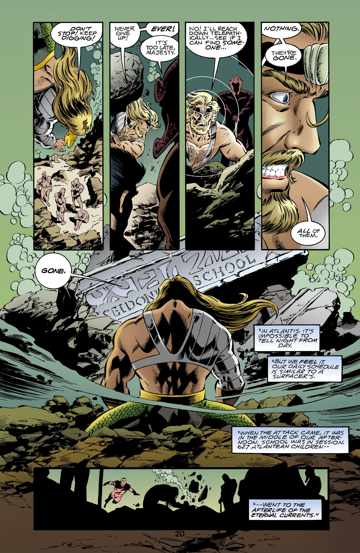 Read online Aquaman (1994) comic -  Issue #64 - 19