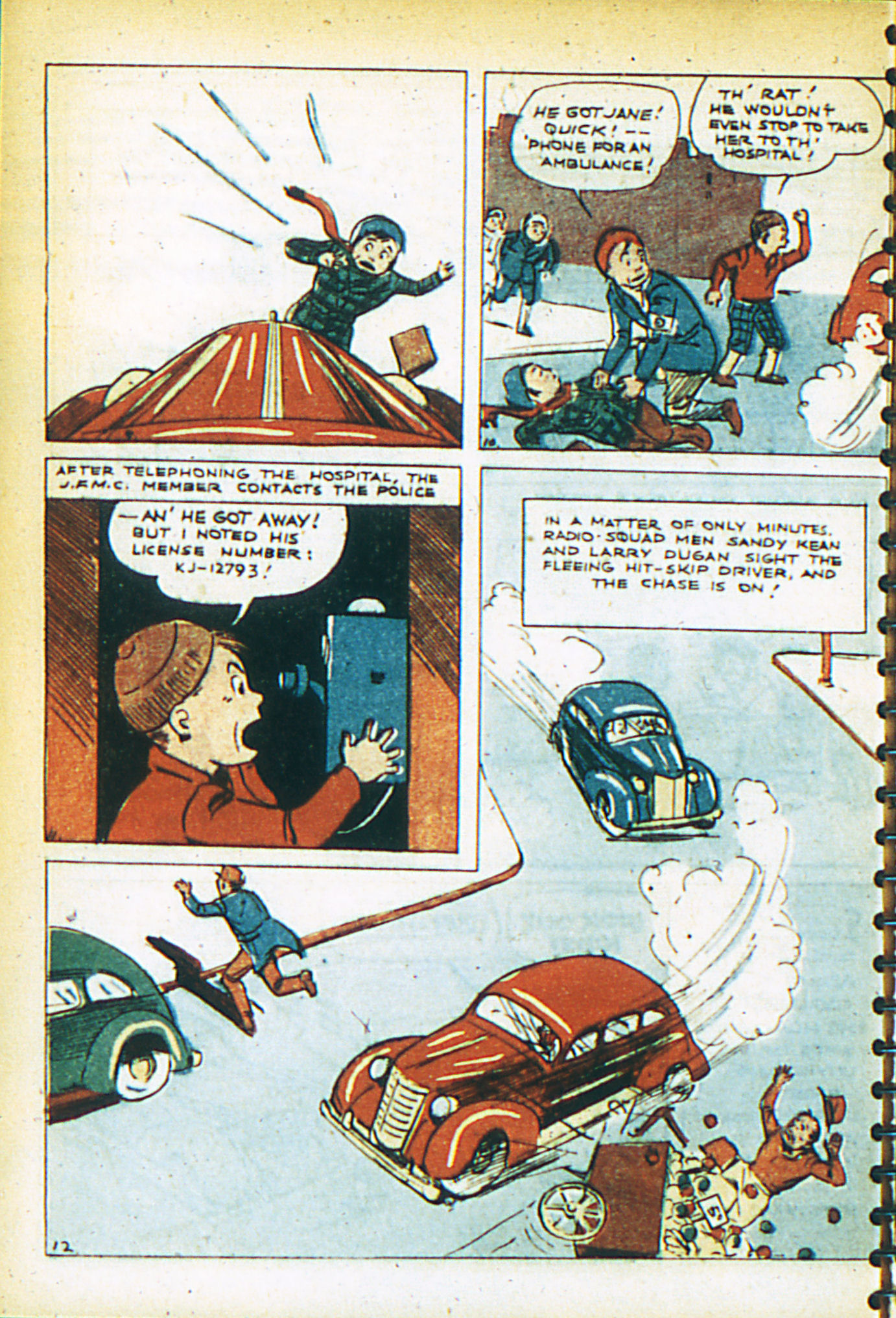 Read online Adventure Comics (1938) comic -  Issue #26 - 9