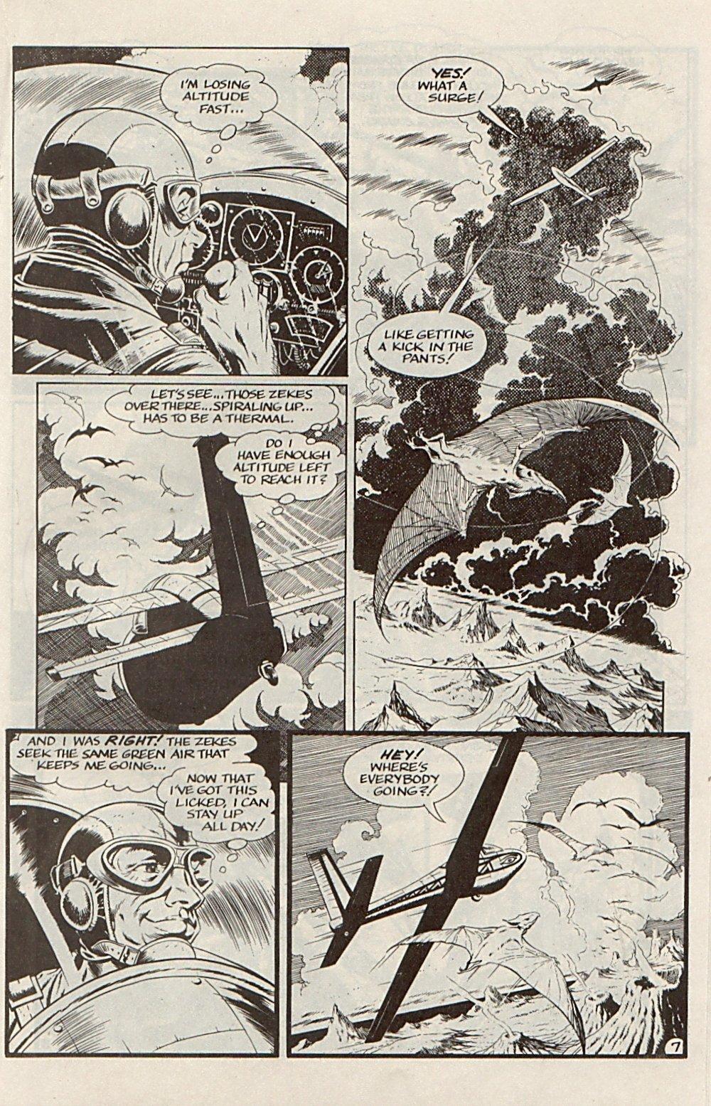 Read online Xenozoic Tales comic -  Issue #6 - 19