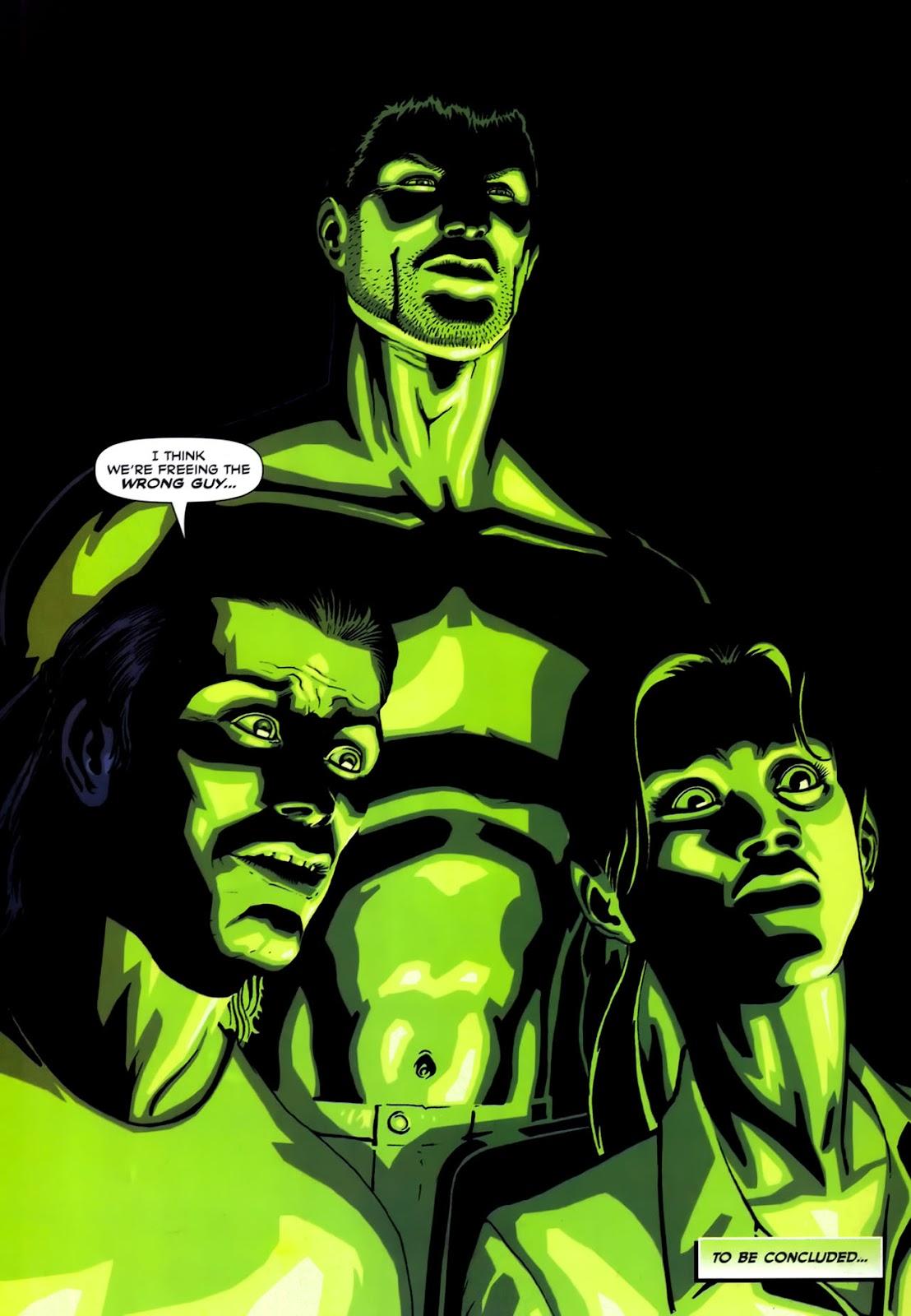 Read online Lazarus (2007) comic -  Issue #2 - 24