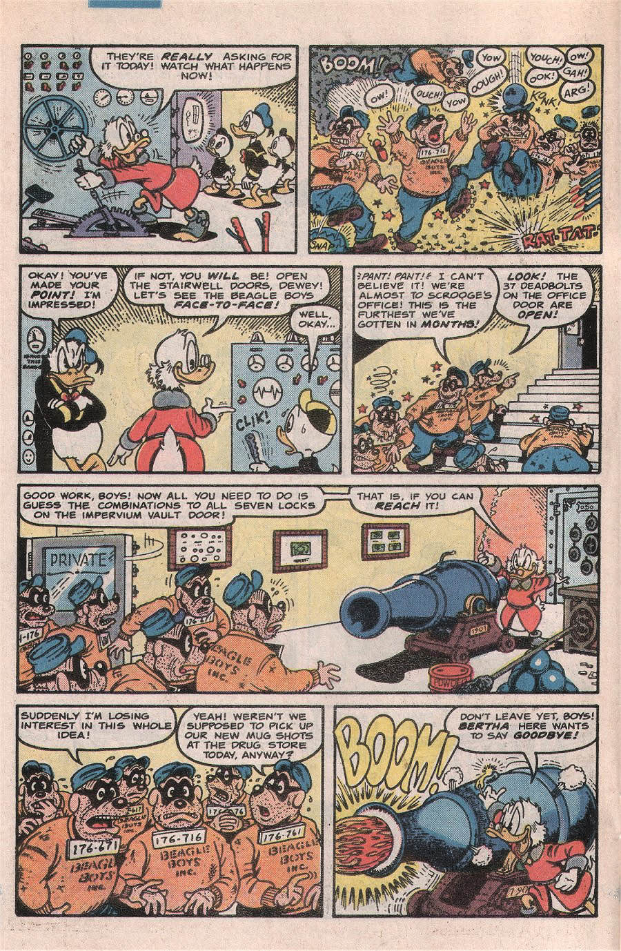 Read online Uncle Scrooge (1953) comic -  Issue #224 - 6