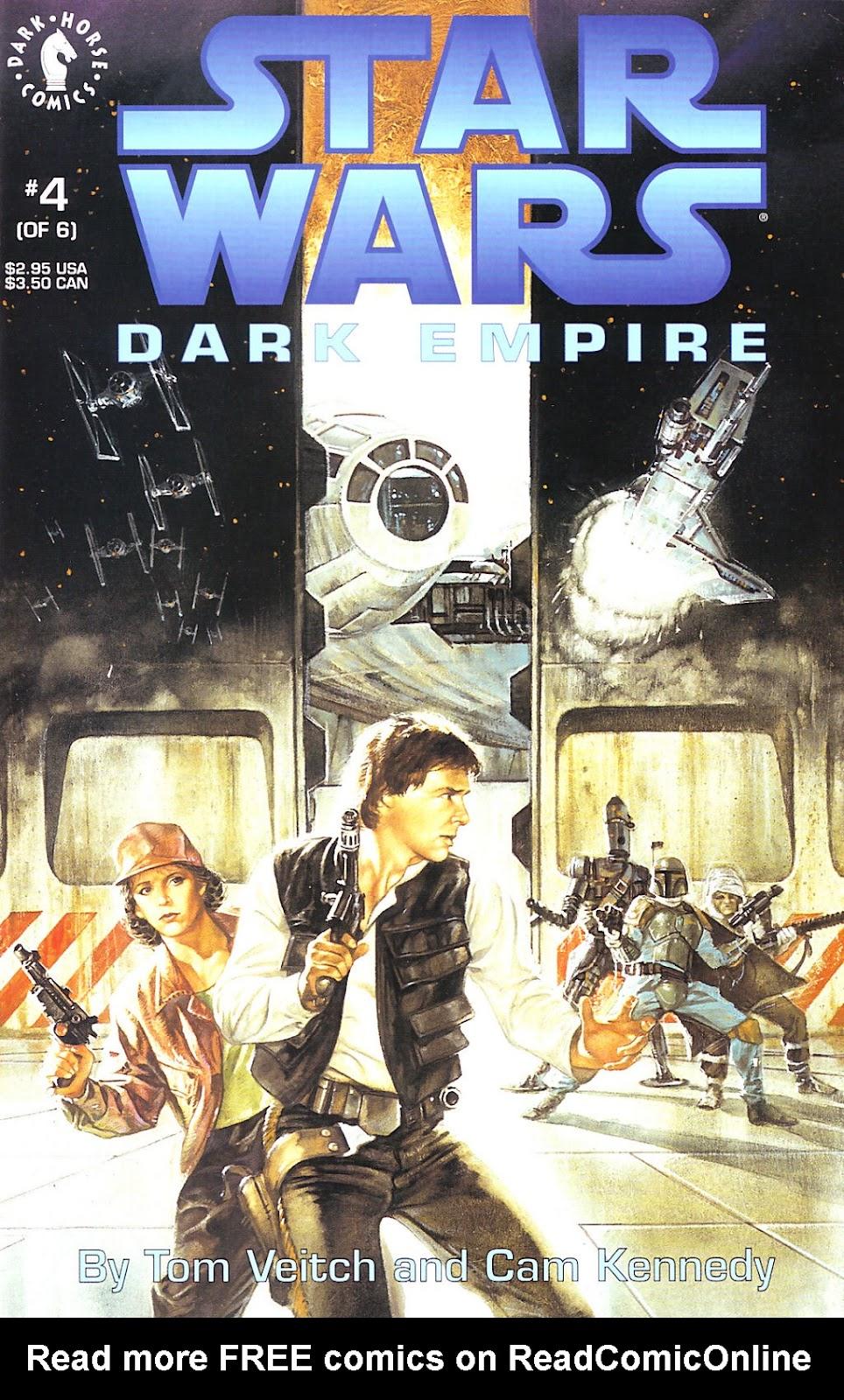 Star Wars: Dark Empire 4 Page 1