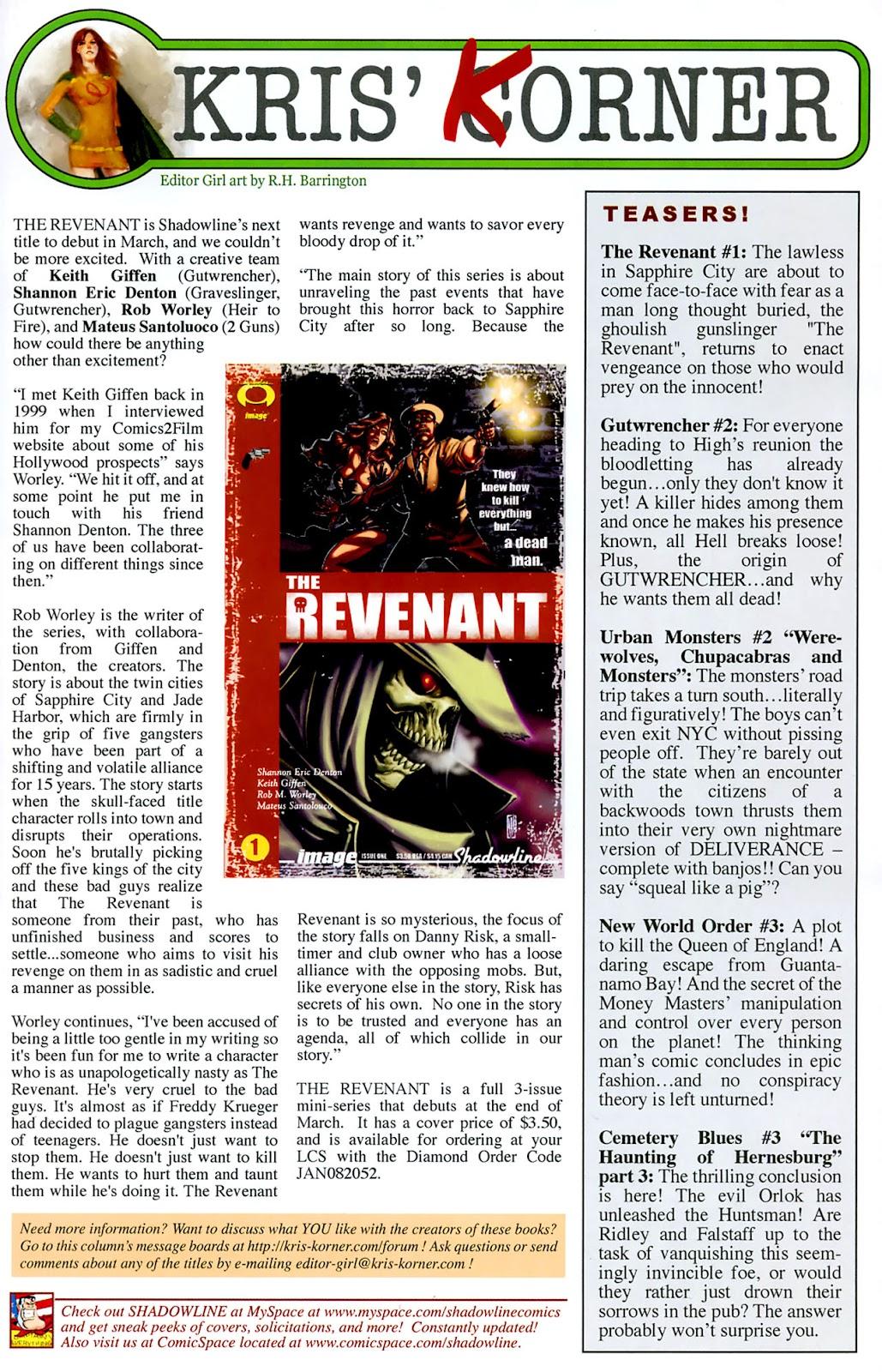 Read online Lazarus (2007) comic -  Issue #3 - 25