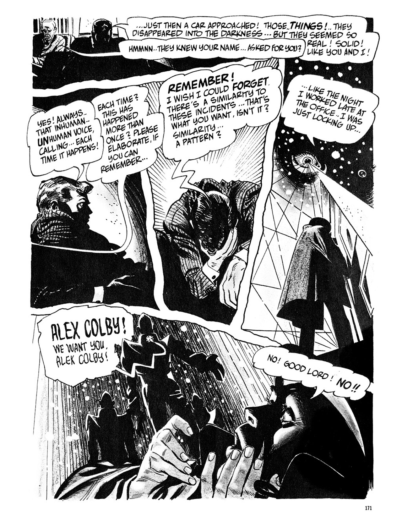 Read online Eerie Archives comic -  Issue # TPB 3 - 172