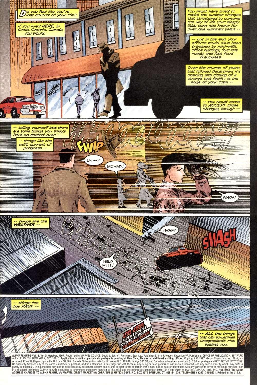 Read online Alpha Flight (1997) comic -  Issue #3 - 3