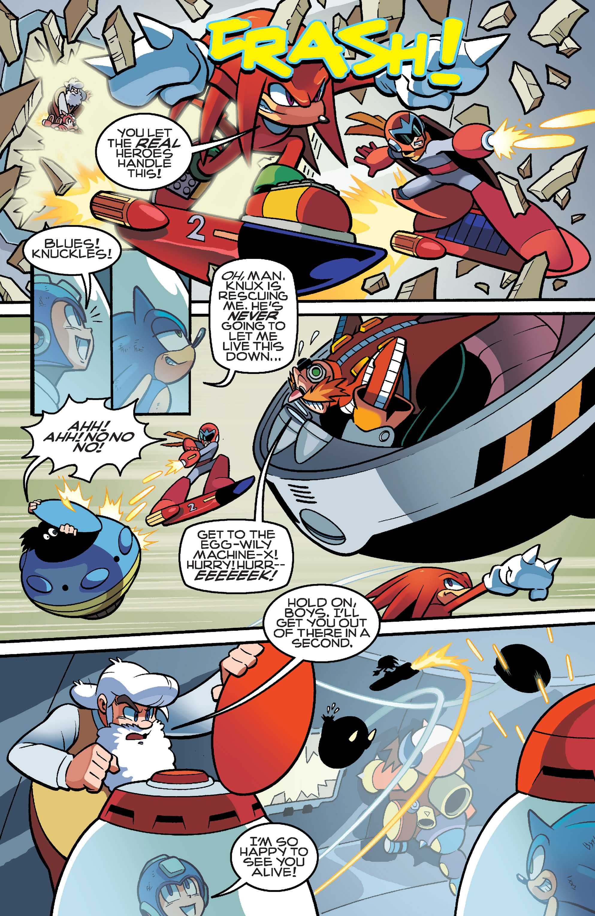 Read online Sonic Mega Man Worlds Collide comic -  Issue # Vol 3 - 102