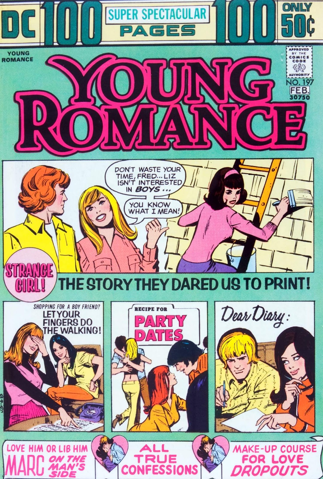 Young Romance issue 197 - Page 1