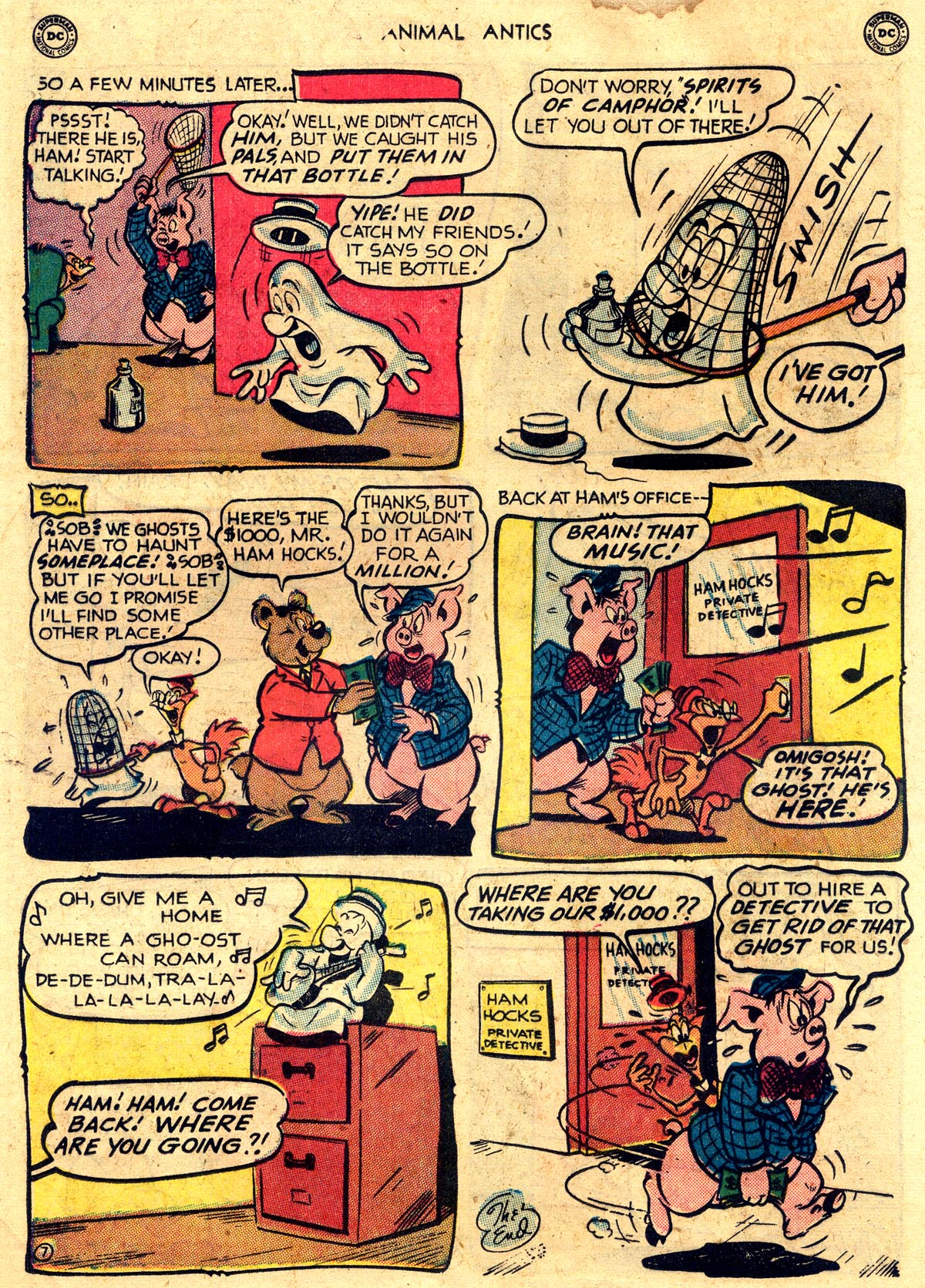 Read online Animal Antics comic -  Issue #26 - 24