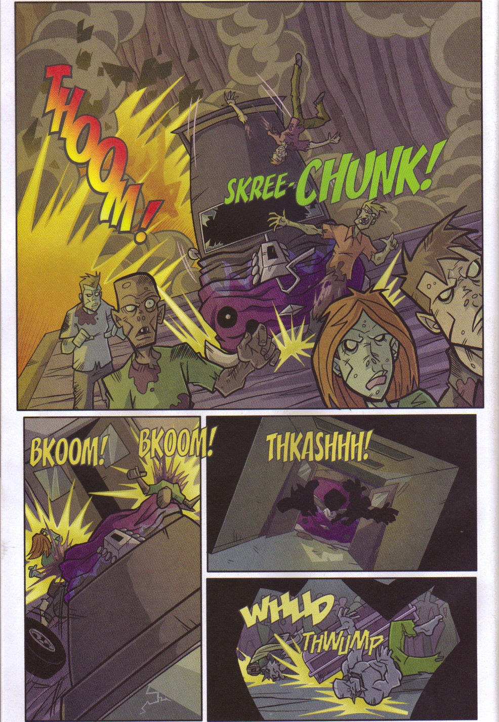 Read online Xombie Reanimated comic -  Issue #5 - 38