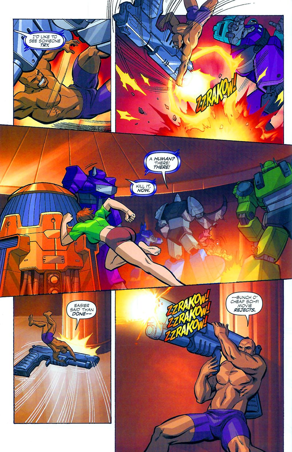 G.I. Joe vs. The Transformers II Issue #4 #5 - English 10