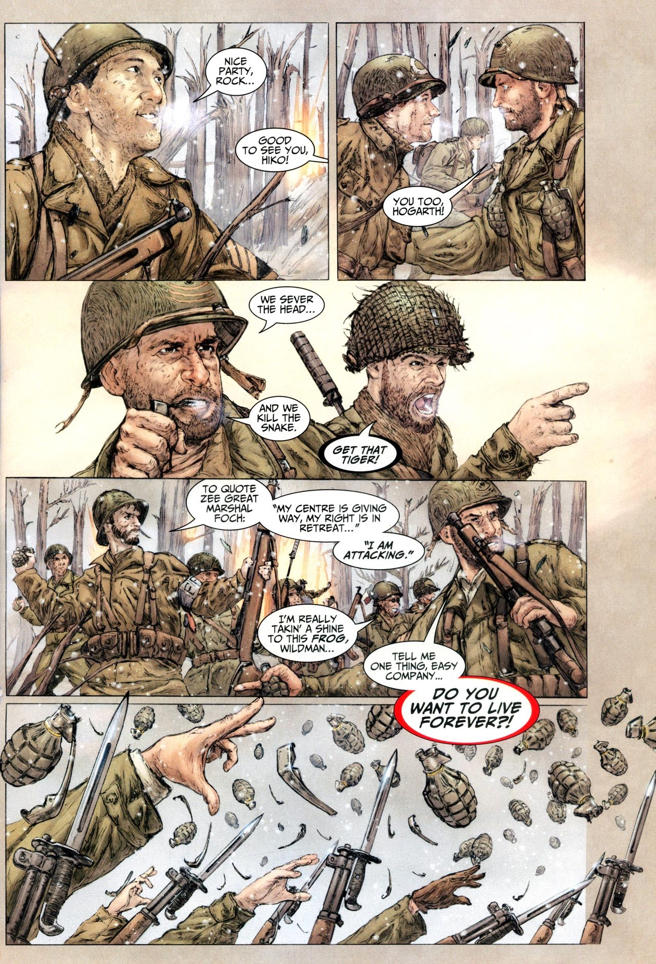 Read online Sgt. Rock: The Lost Battalion comic -  Issue #6 - 10