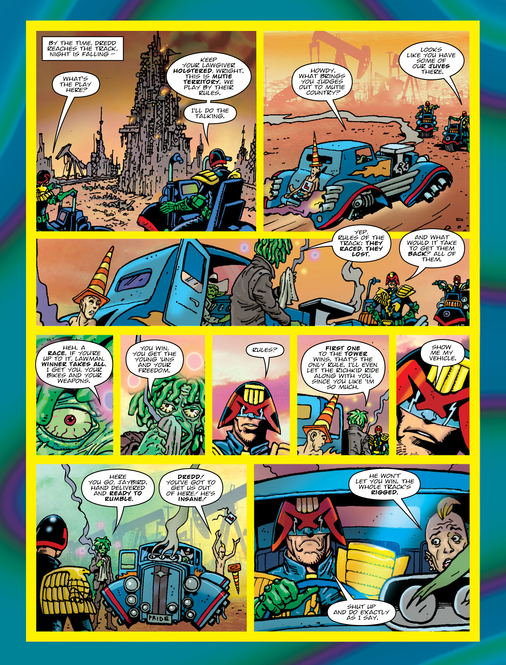 Read online 2000 AD comic -  Issue #2034 - 4