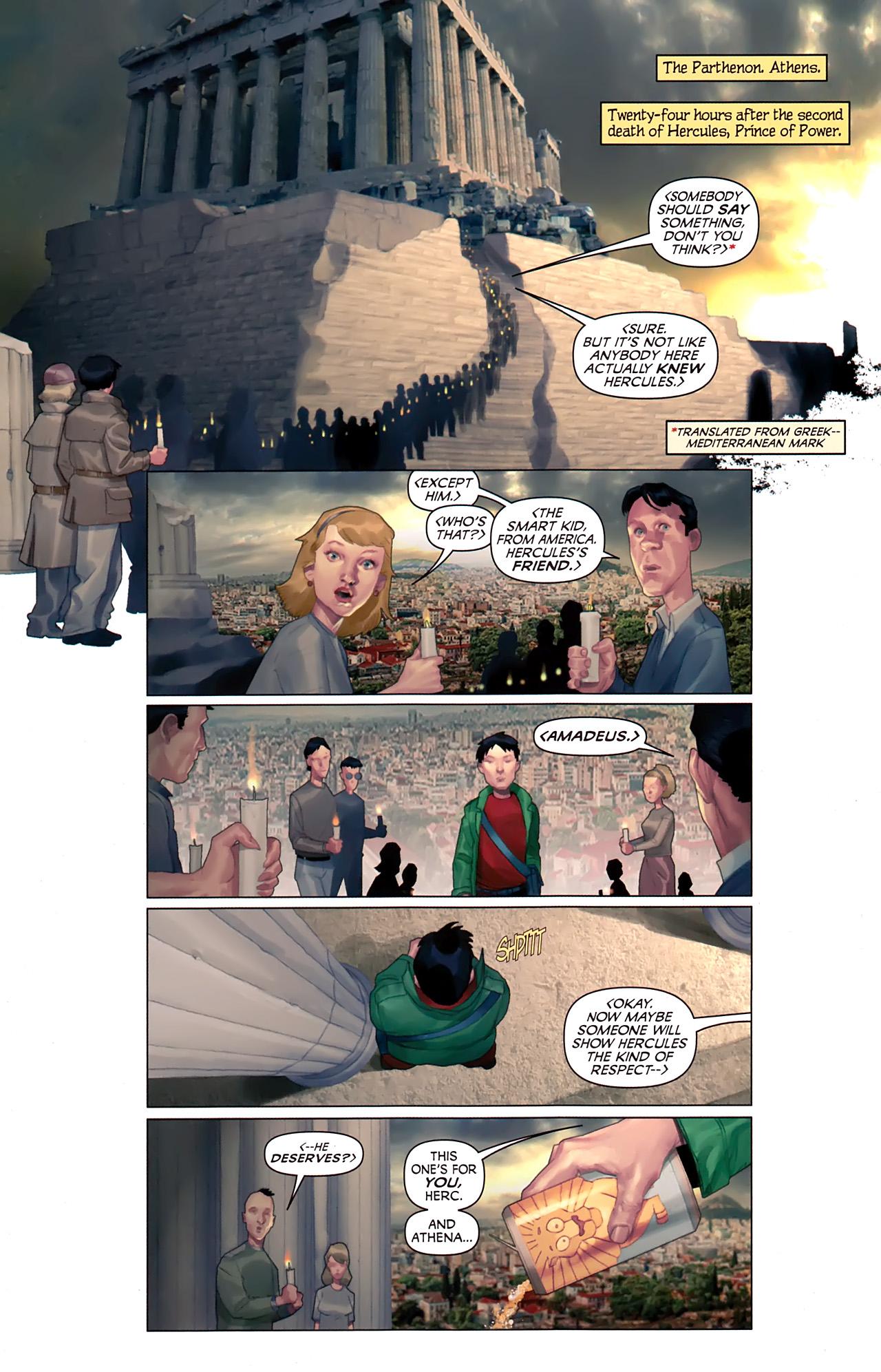 Read online Hercules: Fall of an Avenger comic -  Issue #1 - 3